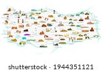 turkey's historical and... | Shutterstock .eps vector #1944351121