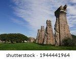 Roman Aqueduct In Frejus  A...