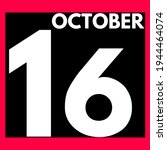 October 16 . Modern Daily...