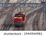 Shunting Locomotive With...
