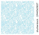 seamless pattern with blue... | Shutterstock .eps vector #1944565837
