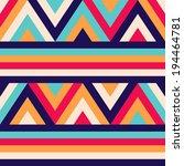 Seamless Ethnic Zigzag Pattern...