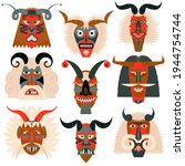 Busos.traditional Carved Wood...