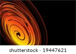vortex effect business card | Shutterstock . vector #19447621