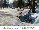 Vacant Benches In Sunny City...