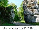 Rock Krakow Gate In Ojcow ...