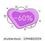 60 percent color bubble shape...   Shutterstock .eps vector #1944802054