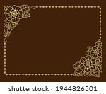 stylized with henna tattoos... | Shutterstock .eps vector #1944826501