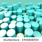 3d render of an abstract... | Shutterstock . vector #1944848554
