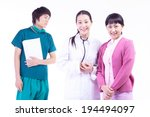the image of healthcare in... | Shutterstock . vector #194494097
