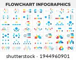 flowchart infographic set.... | Shutterstock .eps vector #1944960901