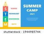 stem educational kids summer... | Shutterstock .eps vector #1944985744