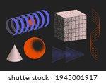 universal vector geometric...   Shutterstock .eps vector #1945001917