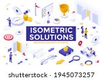 business decision and vision... | Shutterstock .eps vector #1945073257