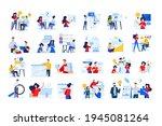 set of modern flat design...   Shutterstock .eps vector #1945081264