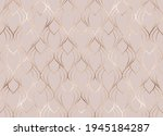 art deco seamless pattern with... | Shutterstock .eps vector #1945184287