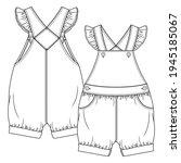 Baby Girls Dungaree Fashion...