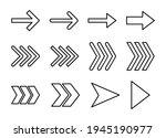 arrow icon set. arrow symbol....