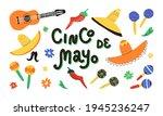 cinco de mayo design elements... | Shutterstock .eps vector #1945236247