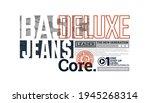 deluxe denim  modern and... | Shutterstock .eps vector #1945268314
