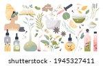 herbal medicine and alternative ... | Shutterstock .eps vector #1945327411