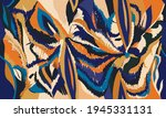 hand drawn artistic abstract... | Shutterstock .eps vector #1945331131