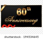 60,60th,achievement,age,anniversary,award,birthday,celebration,certificate,decor,decoration,decorative,element,glint,gold