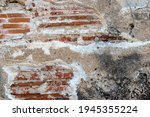 old brick wall fragment.... | Shutterstock . vector #1945355224