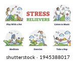 stress relievers and...   Shutterstock .eps vector #1945388017