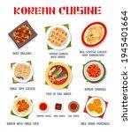korean cuisine food dishes... | Shutterstock .eps vector #1945401664