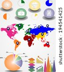 education info graphic vintage... | Shutterstock .eps vector #194541425