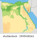highly detailed egypt physical... | Shutterstock .eps vector #1945418161