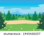 horizontal vector illustration... | Shutterstock .eps vector #1945430257