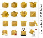 box and package icon | Shutterstock .eps vector #194546567