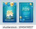 66th years birthday vector...   Shutterstock .eps vector #1945478557