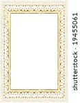 antique frame background | Shutterstock . vector #19455061
