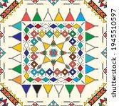 decorative geometric repeating... | Shutterstock .eps vector #1945510597