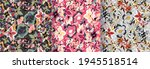 watercolor flower background. ...   Shutterstock .eps vector #1945518514