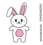 rabbit vector illustration... | Shutterstock .eps vector #1945540291