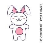 rabbit vector illustration... | Shutterstock .eps vector #1945540294