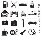 car repair or car service icon... | Shutterstock .eps vector #194561357