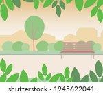 park nobody  template to... | Shutterstock .eps vector #1945622041