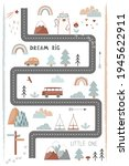 bream big  little one   cute... | Shutterstock .eps vector #1945622911