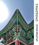 Korean Tradition Temple Roof...