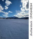 Small photo of Frozen lake up in Dillon, Colorado