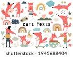 Cute Fox Clip Art   Boho Set Of ...