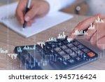 a trader computing historic...