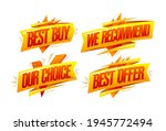 best buy  our choice  best...   Shutterstock .eps vector #1945772494