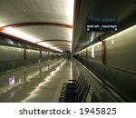 View Of An Airport Walkway
