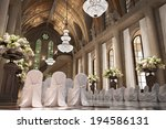 church cathedral wedding... | Shutterstock . vector #194586131